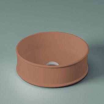 Artceram Atelier Раковина 44 см, настольная, круглая, цвет: tortora