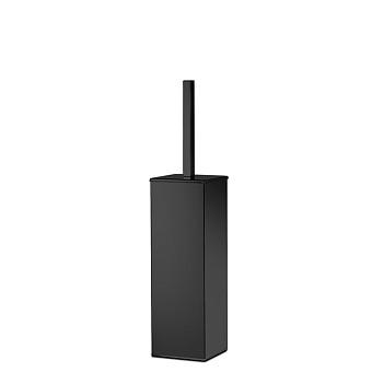 3SC SK Ёршик напольный, короткая ручка, цвет: черный матовый