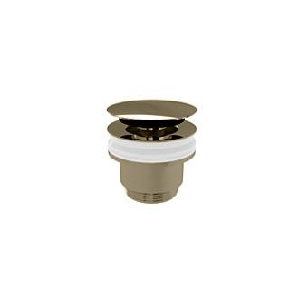 Devon&Devon Донный клапан CLICK-CLACK без перелива, цвет: никель блестящий