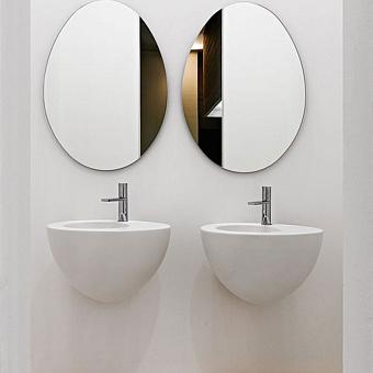 Cielo Le Giare Раковина подвесная 56×45×35h см, цвет: глянцевый белый
