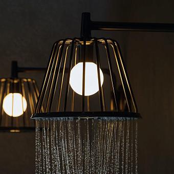 Axor LampShower Верхний душ 1jet, с держателем, цвет: шлифованный хром