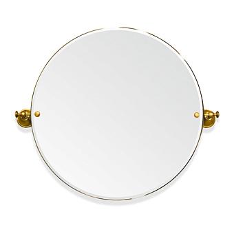 TW Harmony 023, вращающееся зеркало круглое 69*8*h60, цвет держателя: золото