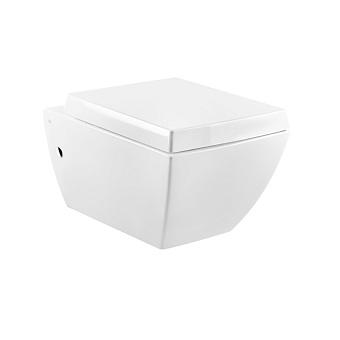 Gessi Mimi Унитаз подвесной 54.5х36.1см в комплекте с сиденьем Soft Close и сифоном, цвет: белый