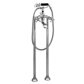Stella Roma Напольный смеситель для ванны 3274CL306 с ручным душем, цвет: хром