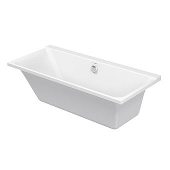 Duravit P3 Comforts Ванна встраиваемая 1700x750х460 mm, с наклоном для спины слева, цвет белый