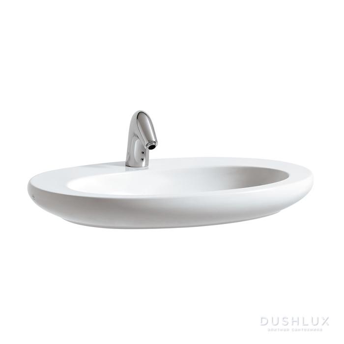 Laufen Alessi One Раковина-чаша 750х520х90мм с 1 отв. под смеситель, с покр. LLC, цвет: белый