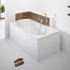 Hoesch Oriental Ванна встраиваемая 150х80х60см, с гидро и аэромассажем Deluxe Whirl+Air, цвет: белый