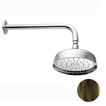Nicolazzi Doccia Верхний душ, Ø 30см, цвет: тёмная бронза