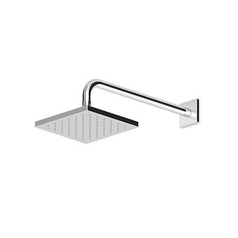 Zucchetti Aguablu Верхний душ, 40х40см, настенный, цвет: хром