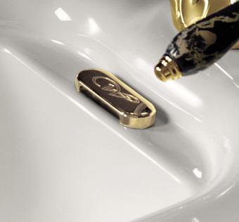 Kerasan Waldorf Заглушка для перелива, цвет золото
