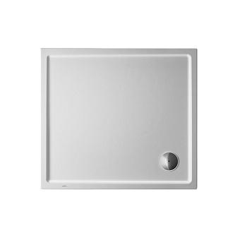 Duravit Starck Slimline Поддон акриловый 1000x90см с антислипом, опоры, выпуск, цвет белый