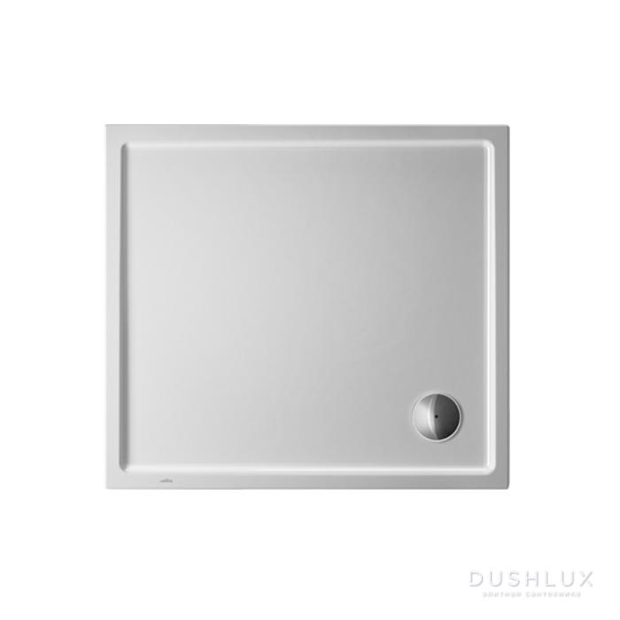 Duravit Starck Slimline Поддон акриловый 1000x900мм с антислипом, опоры, выпуск, цвет белый