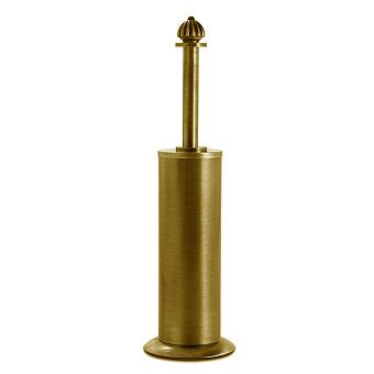 3SC Piccadilly Туалетный ёршик, напольный, цвет: золото 24к. Lucido