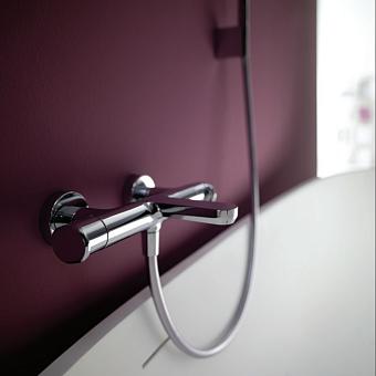 CISAL LineaViva Смеситель термостатический настенный для ванны/душа, цвет хром