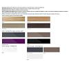 Keuco Edition 11 Planning Комплект мебели 140х53.5х35 см, цвет: трюфель