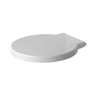 Duravit Starck 1 Сиденье для унитаза сьемное, SoftClose, петли сталь, цвет: белый