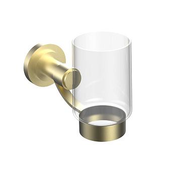 Cristal et Bronze Alliance Стакан подвесной, цвет: матовое золото