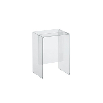 Laufen Kartell Табурет, 330х280х465мм, пластик, цвет: прозрачный кристал