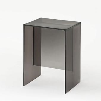 Laufen Kartell Табурет, 330х280х465мм, пластик, цвет: дымчато-серый