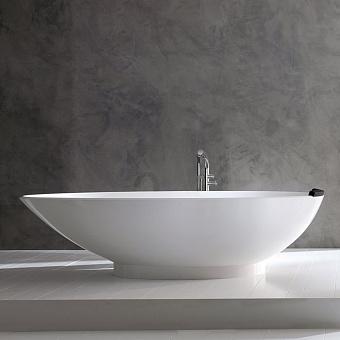 Victoria + Albert Napoli, Ванна 190х84.5х50,3 см, quarrycast, цвет: белый