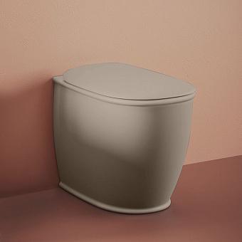 Artceram Atelier Унитаз напольный, 52х37хh42см, безободковый, слив универсальный, с крепежом, цвет: matera
