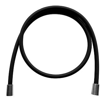 Carlo Frattini Spillo Steel Шланг для душа 1500 мм., цвет: INOX/черный матовый