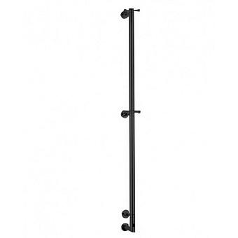 Margaroli Arcobaleno Полотенцесушитель электрический 7.4х15х166см., межосевое расстояние:75см., цвет: черный матовый