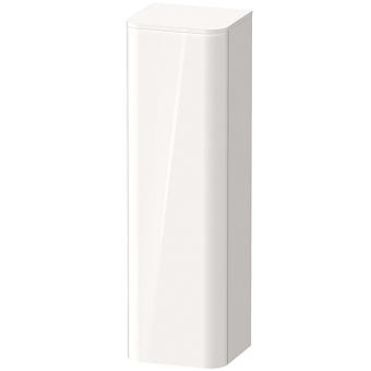 Duravit Happy D.2 Plus Пенал подвесной 1336x400x360 мм, 1 дверь, 3 стекл. полки, DX, цвет: белый глянцевый