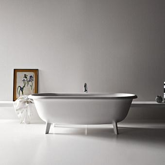 Agape Ottocento Ванна отдельностоящая 178х79х59.5 см, цвет: белая