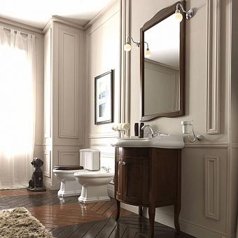 KERASAN Retro Комплект мебели, с закругленым фасадом, 73см, Цвета: noce.