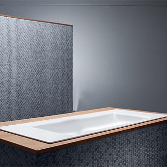 BETTE Aqua Раковина встраиваемая 140х49.5х9 cм, без отв., без перелива, с крепежом, цвет: белый