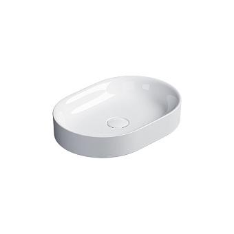 Catalano Horizon Раковина накладная 50х30хh:8.5см., без перелива, цвет: белый глянец