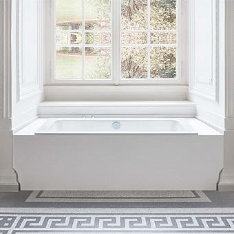 BETTE One Ванна встраиваемая 170х75х42 см, с шумоизоляцией, BetteGlasur® Plus, антислип, цвет: белый