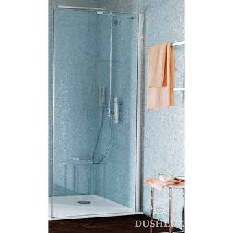 SAMO Zenit Боковая стенка 96,5-99x200см, прозрачное стекло, хром