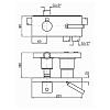 Zucchetti Pan Встроенный однорычажный смеситель для ванны, 3-х канальный, цвет: хром