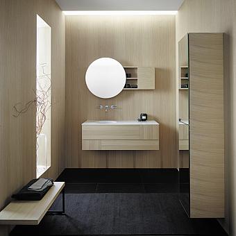 Burgbad Coco Комплект подвесной мебели 120x50x40 см, дуб натуральный