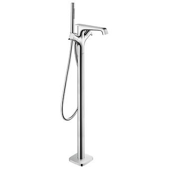 Axor Citterio E Смеситель для ванны, напольный, термостатический, с ручным душем, цвет: хром