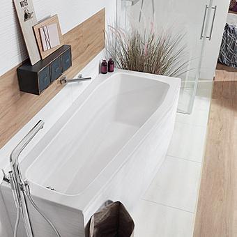 Mauersberger Globosa Ванна встраиваемая 170x75 см, DX, цвет: белый