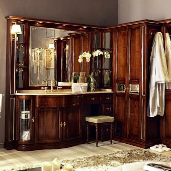 Комплект мебели Eurodesign IL Borgo Plus comp. №37 220/241x59/38xh202 см, столешница категории B Rosa Perlino anticato