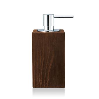 Decor Walther Wood SSP Дозатор для мыла, настольный, цвет: темный ясень