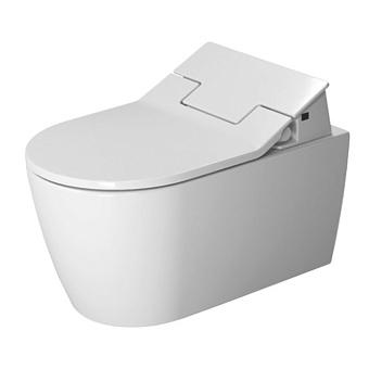 Duravit ME by Starck SensoWash Унитаз подвесной Rimless  без смывного края,  вкл. крепление, цвет белый, с HygieneGlaze, с сиденьем