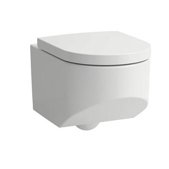 Laufen Sonar Унитаз 53x37x34см подвесной, безободковый, с покр. LLC, цвет: белый
