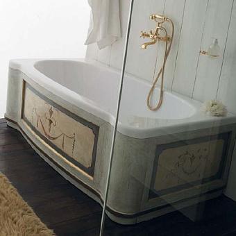 Mobili Di Castello Vasca Ванна пристенная 170х85х57 см, декор Barocco