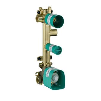 Axor ShowerSelect Скрытая часть для термостата 38x12 c 3 розетками, для 3 потреб.