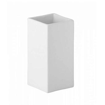 Bongio Domino Стакан настольный, цвет: белый