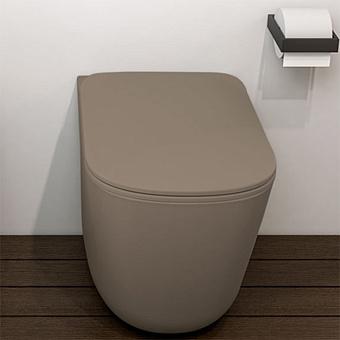 Cielo Era Унитаз напольный 36,5x52xh42см, безободковый, цвет: Fango