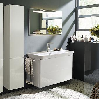 Burgbad Iveo Комплект мебели с раковиной 1000 мм, цвет: белый глянец