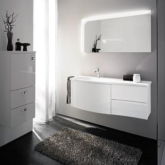 Burgbad Sinea Комплект подвесной мебели 121x49x47.5 см, цвет белый глянцевый