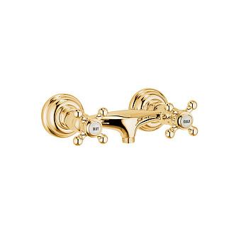 Kludi Adlon смеситель для душа, настенный, цвет: золото