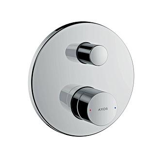 Axor Uno Встраиваемый смеситель для ванны однорычажный с защитой по станд. EN1717, цвет: шлифованный никель